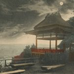 Tsukimido(月見堂)  – Free image Vintage postcard