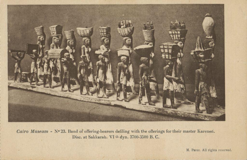 供物を運搬する人々(Offering-bearers)
