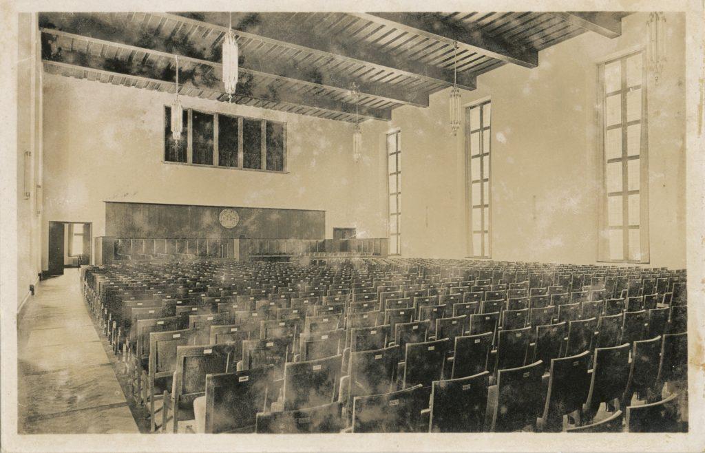 ハイデルベルク大学の講堂(Auditorium in Heidelberg university)