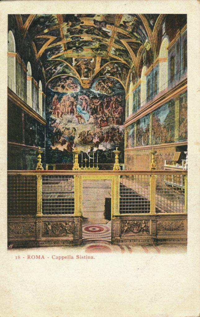 システィーナ礼拝堂(Sistine Chapel)