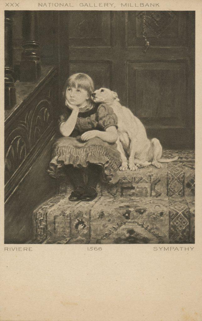 少女と犬(Girl and dog)