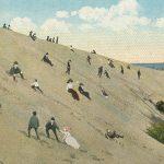 Sandhill(砂丘) – Free image Vintage postcard