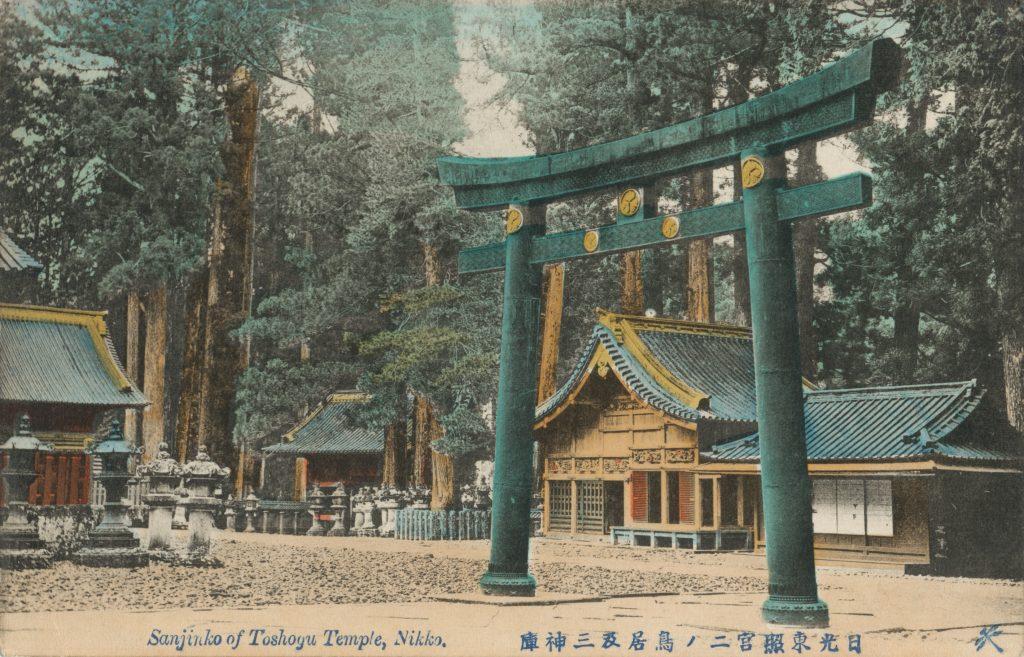 日光東照宮の鳥居(Torii in Nikko Toshogu)