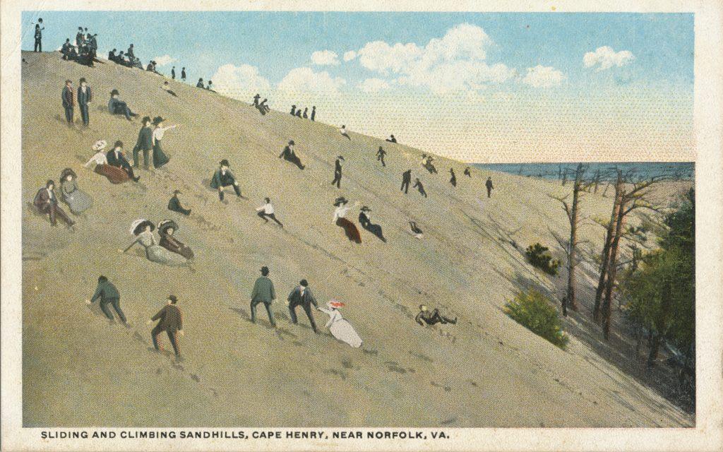 ノーフォークの砂丘(Sand dune at Norfolk)