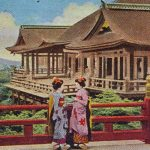 Kiyomizu Temple(清水寺) – Old miniature book of Kyoto