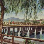 Sanjo Ohashi(三条大橋) – Old miniature book of Kyoto