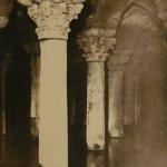 Basilica Cistern(地下宮殿) – Free image Vintage postcard