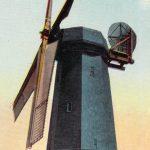 Dutch windmill(オランダ風車) – Free image Vintage postcard