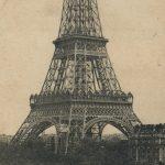 The Eiffel Tower(エッフェル塔) – Free image Vintage postcard