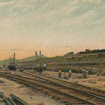 Culebra Cut(クレブラカット) – Free image Vintage postcard