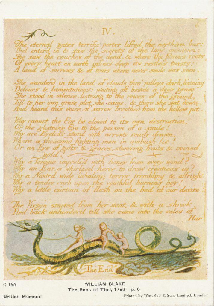 ウィリアム・ブレイクの詩(Poetry by William Blake)