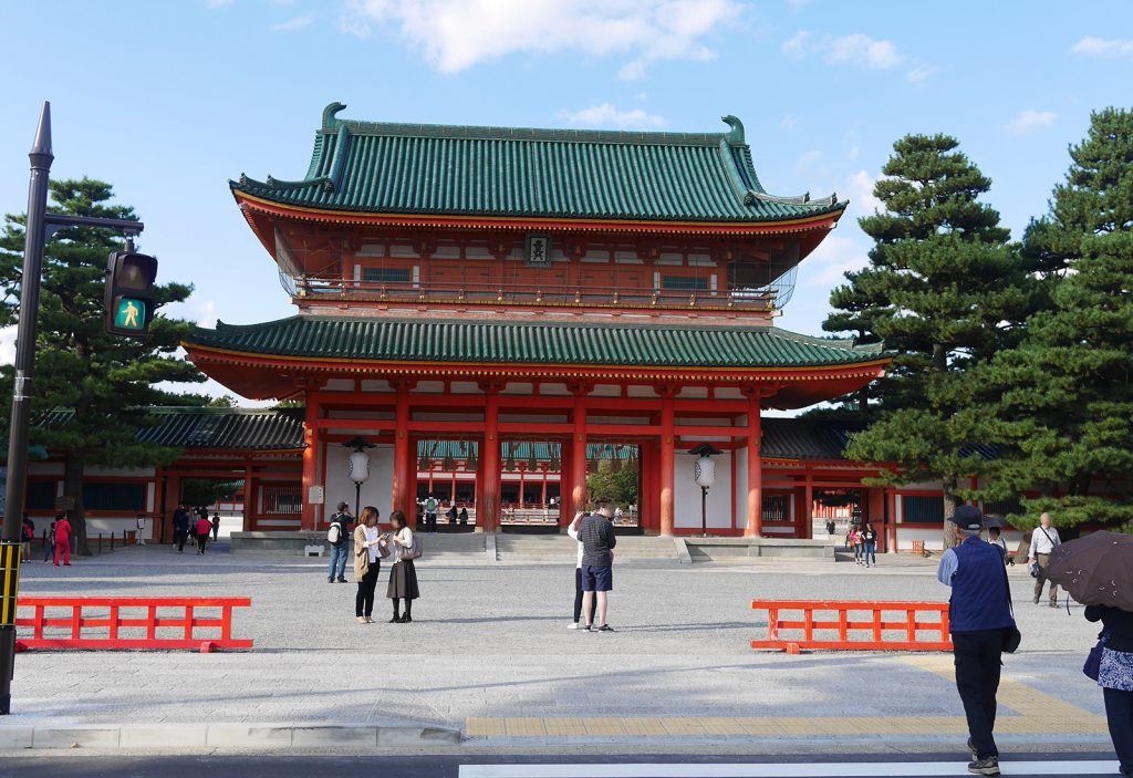 平安神宮の写真(Picture of Heian Jingu Shrine)