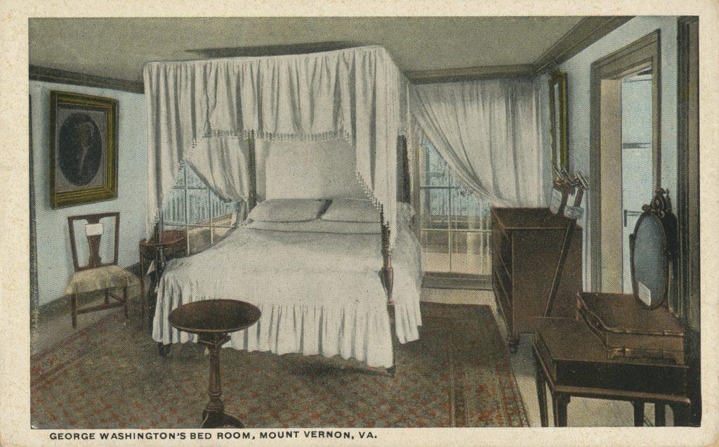 ジョージ・ワシントンのベッドルーム(George Washington's bedroom)