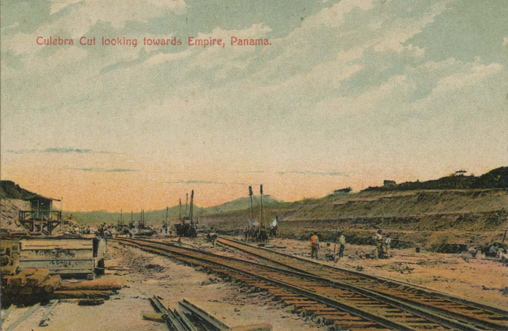 パナマ運河のクレブラカット(The Culebra Cut at the Panama Canal)
