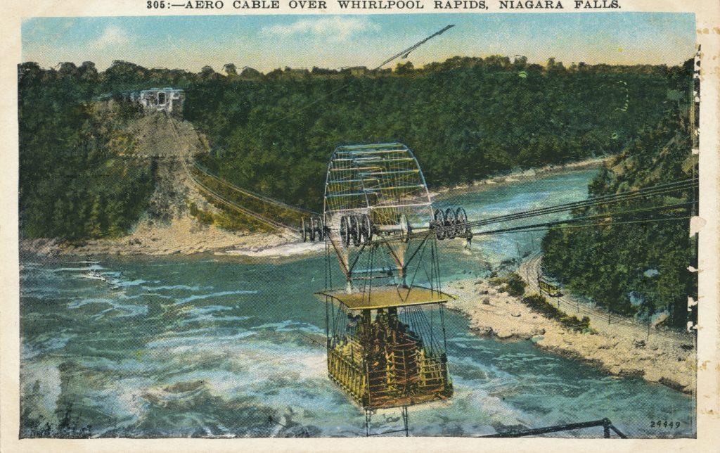ナイアガラ川のケーブルカー(Cable car on Niagara river)