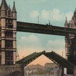 Tower Bridge(タワーブリッジ) – Free image Vintage postcard